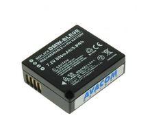 Baterie Avacom Panasonic DMW-BLE9 Li-ion 7.2V 940Ah 6.8 Wh verze 2012 - neoriginální