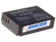 Baterie Avacom Canon LP-E12 Li-ion 7.4V 600mAh 4.3Wh - neoriginální