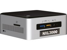HAL3000 NUC Kit Core W10P/ Intel Core i3-6100U/ 4GB/ SSD 120GB/ WiFi/ CR/ W10 Pro