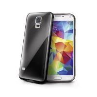 TPU pouzdro CELLY Gelskin pro Samsung Galaxy S5 / S5 Neo, černé