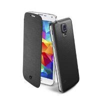 Pouzdro typu kniha CellularLine Backbook pro Samsung Galaxy S5 / S5 Neo, černé