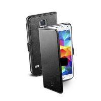 Pouzdro typu kniha CellularLine Book Essential pro Samsung Galaxy S5 / S5 Neo, černé