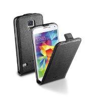 Pouzdro CellularLine Flap Essential pro Samsung Galaxy S5 / S5 Neo, černé
