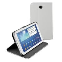 Pouzdro se stojánkem CellularLine Folio pro Samsung Galaxy Tab 3 7.0, bílé