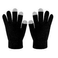 Zimní rukavice CELLY Touch Gloves pro ovládání kapacitních displejů, vel. M/L, černé