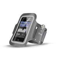 Sportovní neoprénové pouzdro CELLY, velikost XXL pro Samsung Galaxy S4 a telefony podobných rozměrů, šedé
