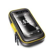 """Voděodolný držák CELLY FLEXBIKE pro 5,7"""" telefony a navigace k upevnění na řídítka"""
