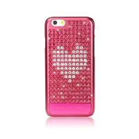 Zadní kryt Bling My Thing Extravaganza Crystal Heart pro Apple iPhone 6/6S, MADE WITH SWAROVSKI® ELEMENTS