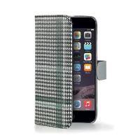 Pouzdro typu kniha CELLY Dandy pro Apple iPhone 6/6S, černé