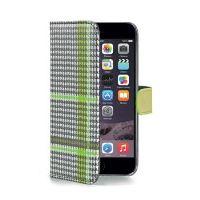 Pouzdro typu kniha CELLY Dandy pro Apple iPhone 6 Plus / 6S Plus, zelené