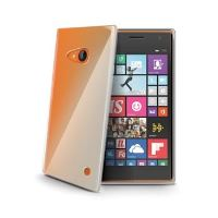 TPU pouzdro CELLY Gelskin pro Nokia Lumia 735, bezbarvé