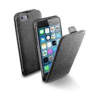 Pouzdro CellularLine Flap Essential pro Apple iPhone 6/6S, černé