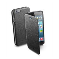 Pouzdro typu kniha CellularLine Book Essential pro Apple iPhone 6/6S, černé