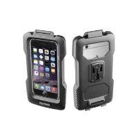 Voděodolné pouzdro Interphone pro Apple iPhone 6/6S, úchyt na řídítka, černé