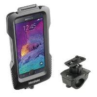 Voděodolné pouzdro Interphone pro Samsung Galaxy Note 4, úchyt na řídítka, černé