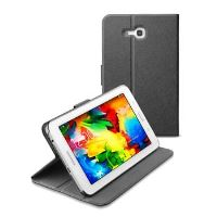 Pouzdro se stojánkem CellularLine Folio pro Samsung Galaxy Tab 3 Lite, černé
