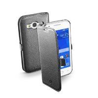 Pouzdro typu kniha CellularLine Book Essential pro Samsung Galaxy Trend 2, černé