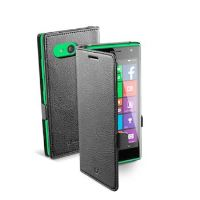 Pouzdro typu kniha CellularLine Book Essential pro Nokia Lumia 735, černé