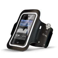 Sportovní neoprénové pouzdro CELLY, velikost 3XL pro Apple iPhone 6 Plus a telefony podobných rozměrů, černé