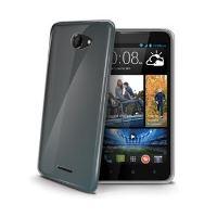 TPU pouzdro CELLY Gelskin pro HTC Desire 516 Dual SIM, bezbarvé