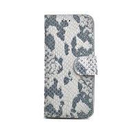 Pouzdro typu kniha CELLY Snake LUXURY pro Apple iPhone 6 Plus / 6S Plus, kůže, přírodní