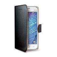 Pouzdro typu kniha CELLY Wally pro Samsung Galaxy J1, PU kůže, černé