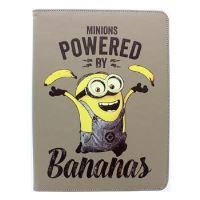 """Stylové pouzdro Despicable Me Minions (Mimoni) pro 8"""" tablety se stojánkem, motiv Banana"""
