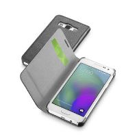 Pouzdro typu kniha CellularLine Book Essential pro Samsung Galaxy A3, černé