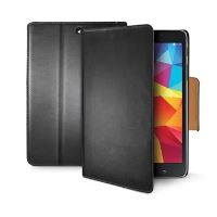 Pouzdro typu kniha CELLY Wally pro Samsung Galaxy Tab 4 7.0, PU kůže, černé