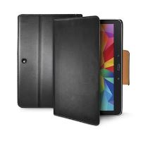 Pouzdro typu kniha CELLY Wally pro Samsung Galaxy Tab 4 10.1, PU kůže, černé