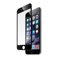 Ochranné tvrzené sklo FIXED pro Apple iPhone 6/6S přes celý displej, černé, 0.33 mm