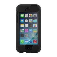 360° ochranný kryt Tech21 Patriot pro Apple iPhone 5/5S/SE, odnímatelný klip na opasek, černý