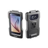 Voděodolné pouzdro Interphone pro Samsung Galaxy S7/S6/S6 Edge, úchyt na řídítka, černé