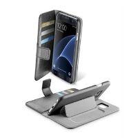 Pouzdro typu kniha CellularLine Book Agenda pro Samsung Galaxy S7, černé