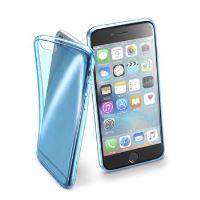 Barevné gelové pouzdro Cellularline FLUO pro Apple iPhone 6/6S, modré