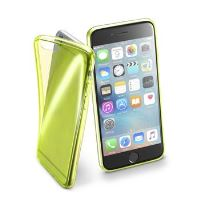 Barevné gelové pouzdro Cellularline FLUO pro Apple iPhone 6/6S, žluté