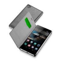 Pouzdro typu kniha CellularLine Book Essential pro Huawei P8, černé