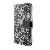 Pouzdro typu kniha FIXED Opus pro Samsung Galaxy J3 (2016), motiv White Stripes
