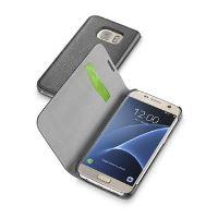 Pouzdro typu kniha CellularLine Book Essential pro Samsung Galaxy S7, černé