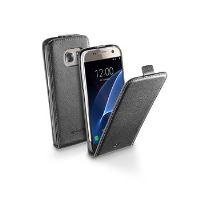 Pouzdro CellularLine Flap Essential pro Samsung Galaxy S7, černé