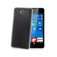 TPU pouzdro CELLY Gelskin pro Microsoft Lumia 650, bezbarvé