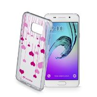 Průhledné gelové pouzdro Cellularline STYLE pro Samsung Galaxy A3 (2016), motiv HEART