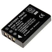 Baterie Extreme Energy typ Fuji NP-120, Li-Ion 1800 mAh, černá