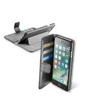 Pouzdro typu kniha CellularLine Book Agenda pro Apple iPhone 7 Plus, černé