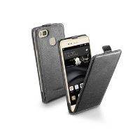 Pouzdro CellularLine Flap Essential pro Huawei Ascend P9 LITE, PU kůže, černé