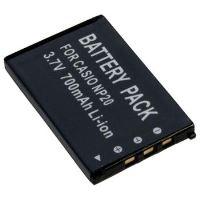 Baterie Extreme Energy typ Casio NP-20, Li-Ion 800 mAh, černá