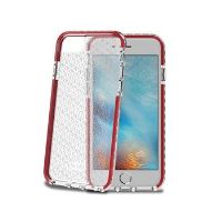 Zadní kryt CELLY HEXAGON pro Apple iPhone 7, červený