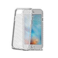 Zadní kryt CELLY Hexagon pro Apple iPhone 7, bílý
