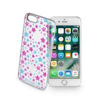 Průhledné gelové pouzdro Cellularline STYLE pro iPhone 7, motiv STARS