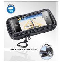 Voděodolné pouzdro Interphone SM pro smartphone, úchyt na řídítka, černé